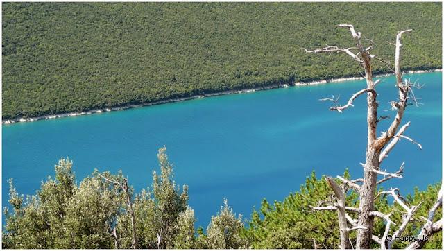 Croatie - fjord de Lim