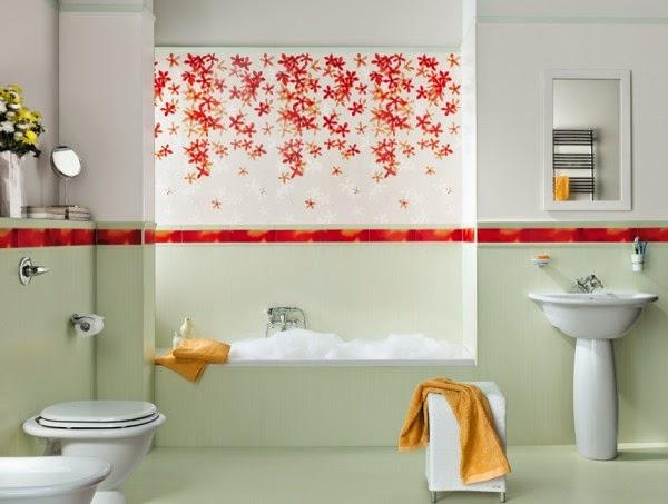 7 صور تصاميم حمامات عصرية   ديكورات حمامات كبيرة و ضيقة   الوان و نقوش حوائط حمامات مودرت