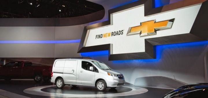 2015 Chevrolet City Express Cargo Vans En Route to Dealerships