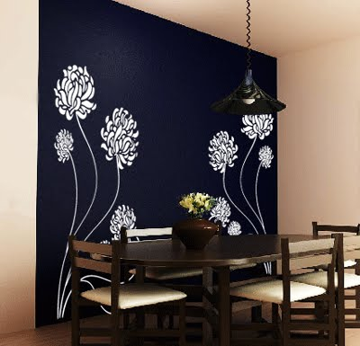 Muebles y decoraci n de interiores stickers para decorar - Vinilos pared comedor ...