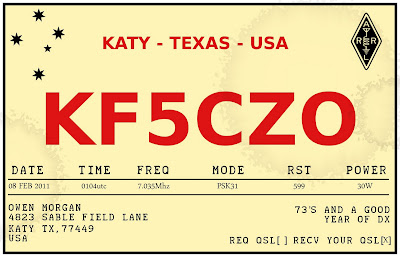 kf5czo retro qsl card design. Black Bedroom Furniture Sets. Home Design Ideas