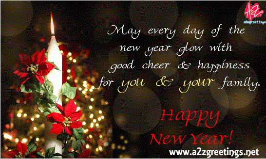 Happy NEW YEAR 2015 WISHES Card