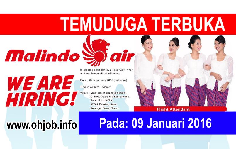 Jawatan Kerja Kosong Malindo Air logo www.ohjob.info januari 2016