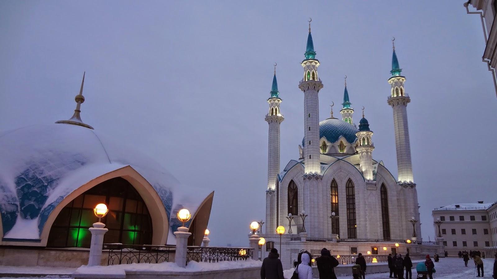 Обои на рабочий стол мечеть кул шариф