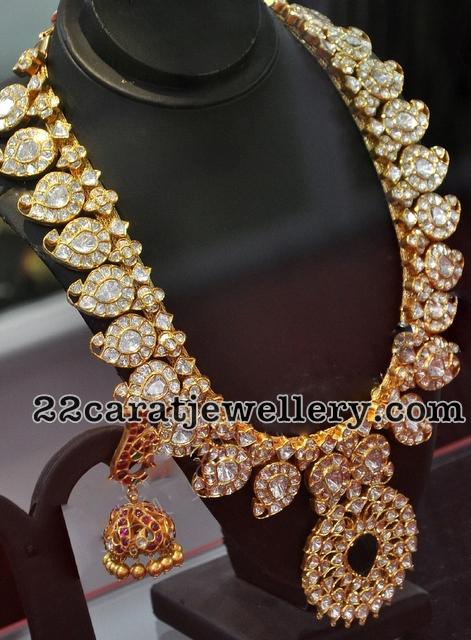 Diamond Mango Mala Jewellery Designs