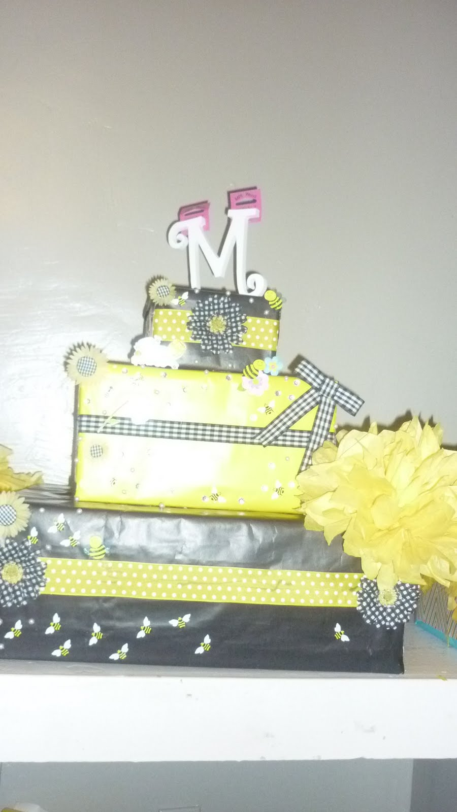saavy events bumble bee baby shower