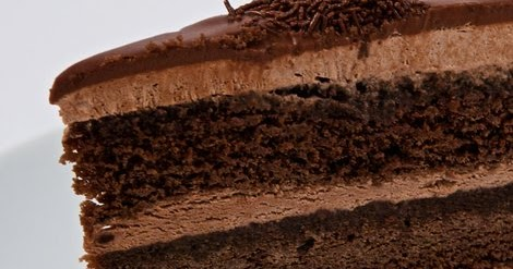 Chocolate Mousse Cake Slice Calorie