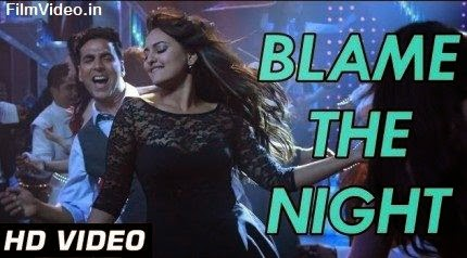 Blame The Night - Holiday (2014) HD Music Video Watch Online