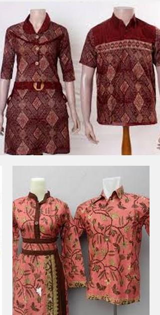 Model Baju Atasan Batik Terbaru Dan Terkini