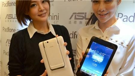Asus: PadFone Mini 4,3 inch ra mắt