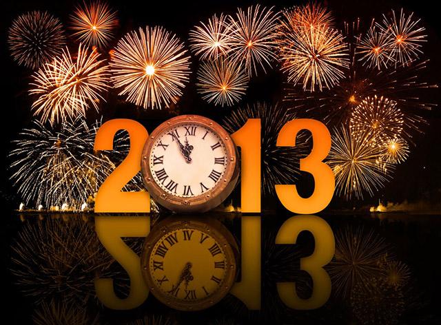 FELIZ NAVIDAD  en el cielo y en la tierra... - Página 4 Feliz+2013+fuegos+artificiales+y+reloj+post