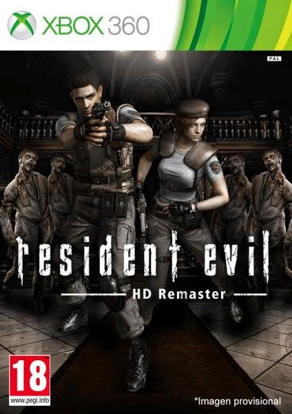 Resident Evil HD Remaster Multilenguaje ESPAÑOL XBOX 360