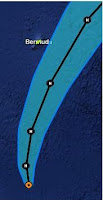 Hurrikan RAFAEL zieht nach Bermuda, Rafael, Sturmwarnung, Bermudas, aktuell, Vorhersage Forecast Prognose, Oktober, 2012, Atlantische Hurrikansaison, Hurrikansaison 2012,