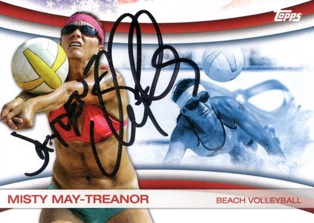 2012 olympic hopefuls card scape ttm misty may treanor. Black Bedroom Furniture Sets. Home Design Ideas