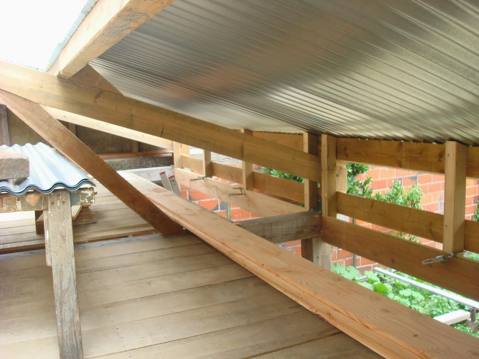 Al 39 r t charpentes et structures r alisation d 39 un atelier - Poutre bois pour exterieur ...