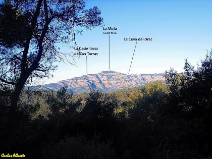 Sant Llorenç del Munt des del Camí del Puig de la Creu. Autor: Carlos Albacete