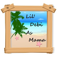Lil' Debi As Mama button