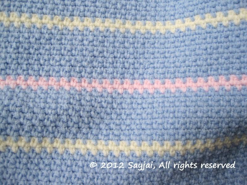 Easy Baby Blanket Crochet Pattern - Sayjai Amigurumi ...
