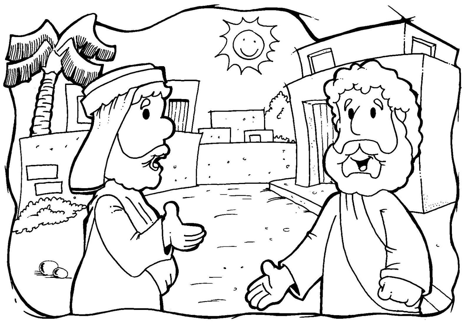 desenhos do bom samaritano para colorir desenhos para colorir