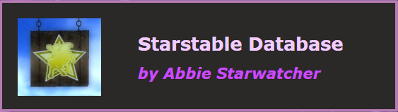 StarStable Database