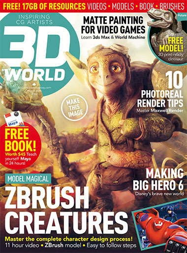 3D World Magazine March 2015