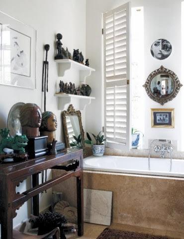 Aranżacja artystycznej łazienki