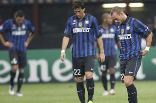 crisis de resultados en Inter de Milán