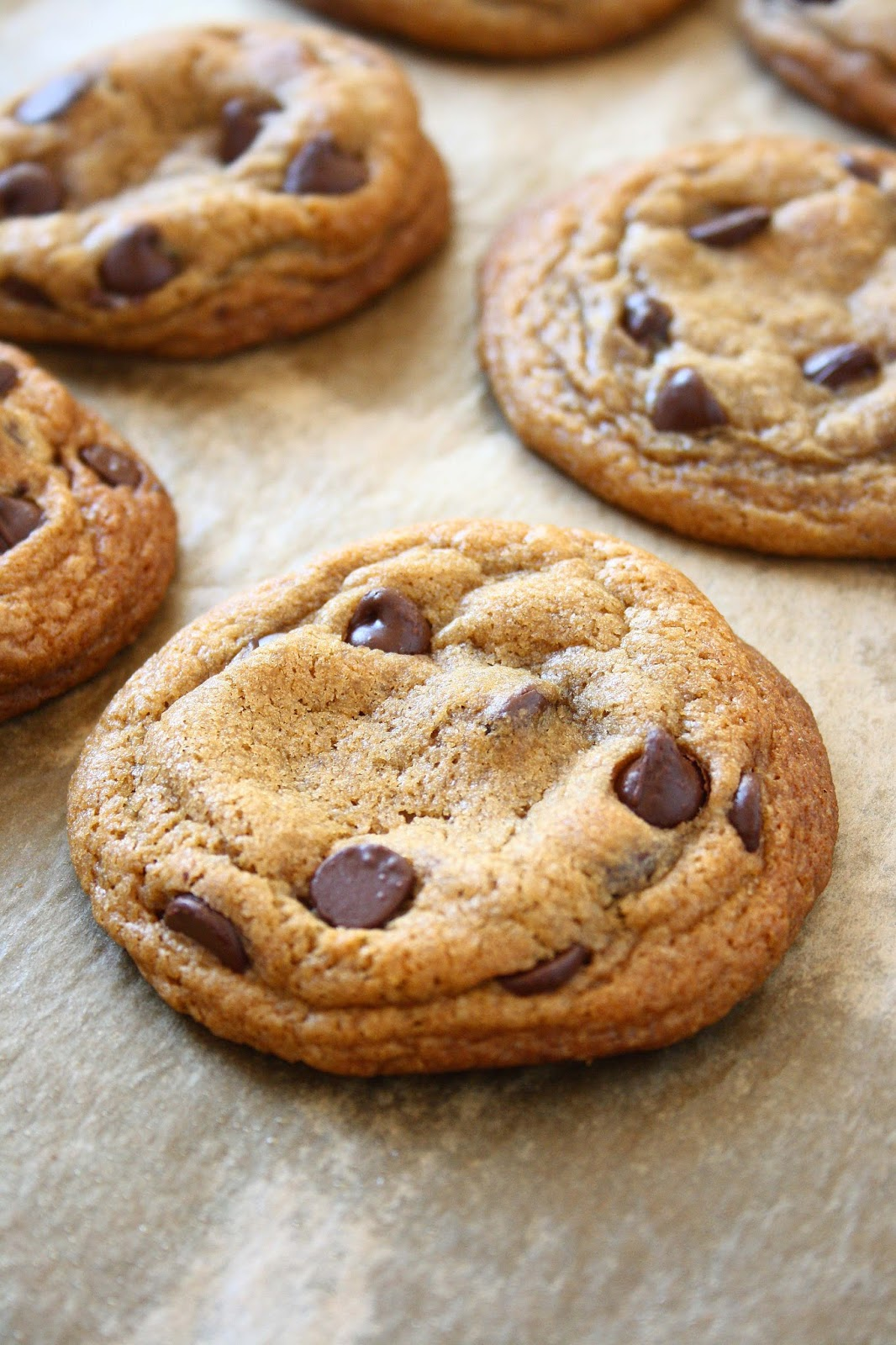 collecting memories: Soft Dark Brown Sugar Chocolate Chip Cookies
