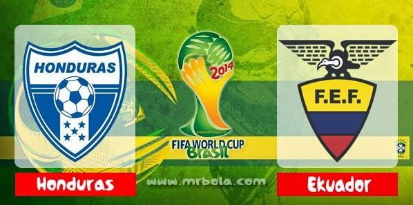 Prediksi Honduras vs Ekuador 21 juni 2014 Piala Dunia