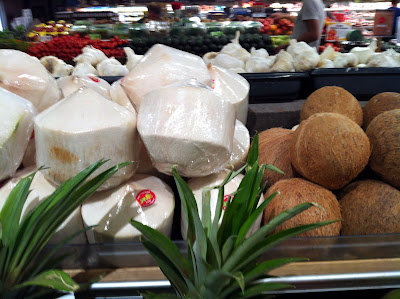 Coconuts in the Grocery Store