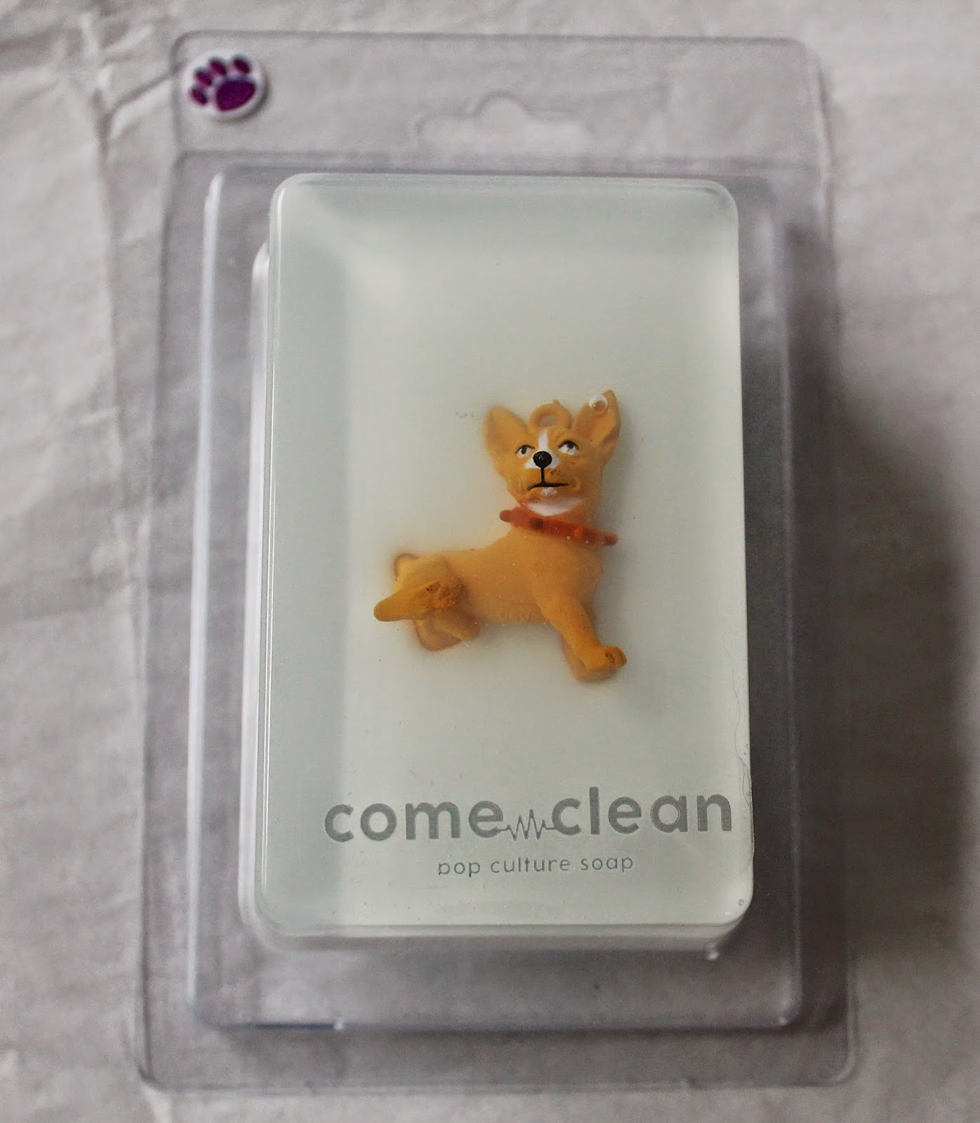 come clean soap, chihuahua soap, beauty products