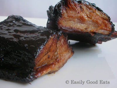 Easily Good Eats: Orange and Soy Glazed Baby Back Pork ...
