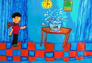 Pinturas de Niños en el Mar Arte en Pinturas de Figura Humana pinturas de niã±os en el mar