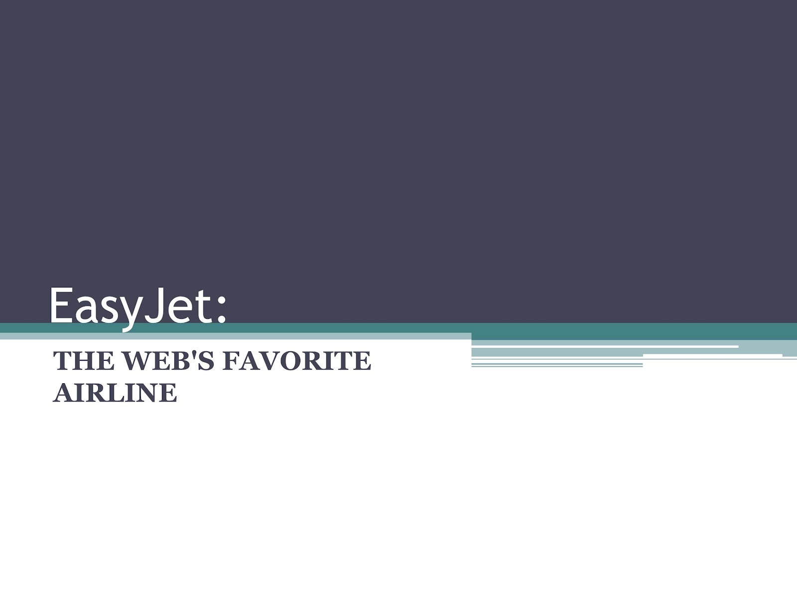 easy jet the webs favorite airline essay