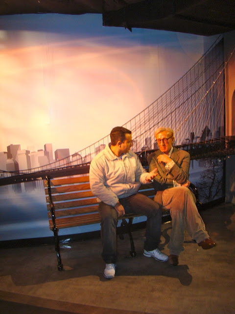 MADAME TUSSAUDS - WOODY ALLEN