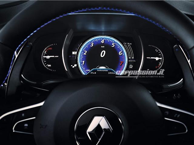 novo Renault Megane 2016 - interior - painel