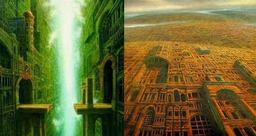 00-Marcin-Kołpanowicz-Painting-Architecture-in-Surreal-Worlds-www-designstack-co