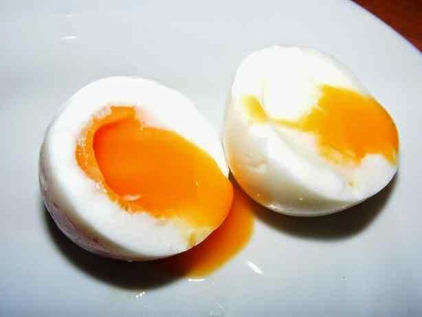 Skystai virti kiaušiniai
