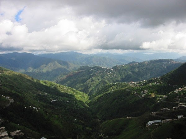 Hill station in Chail