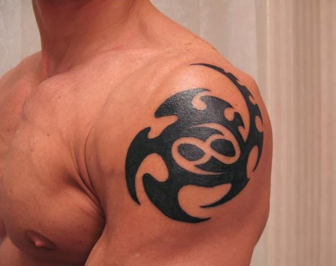 tribal shoulder tattoos designs. Black Bedroom Furniture Sets. Home Design Ideas