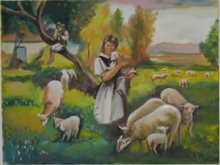 la viuda y su oveja fábula con moraleja, fábula de Esopo para niños