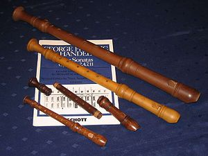Various Recorder Flutes