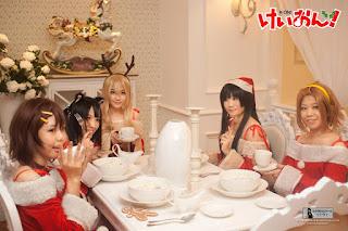 K-On! Christmas Cosplay 2