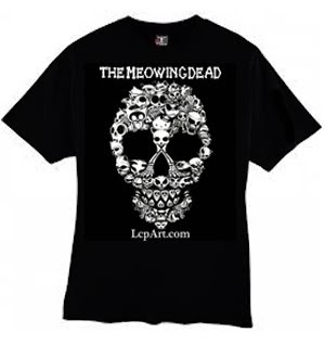 The Meowing Dead T-Shirt is Here!