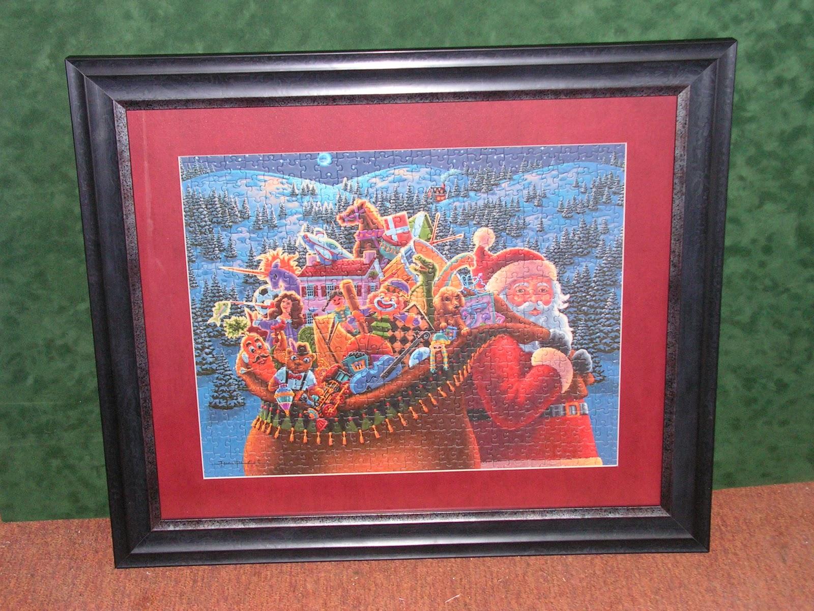 Leona\'s Framing Gallery: Framed Puzzles