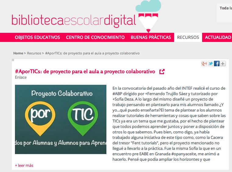 http://bibliotecaescolardigital.es/comunidad/BibliotecaEscolarDigital/recurso/aportics-de-proyecto-para-el-aula-a-proyecto-colab/c300cc82-6273-4ae4-ab44-7adad0c30714