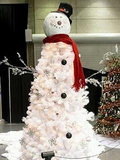 Arboles de Navidad Color Blanco, parte 2