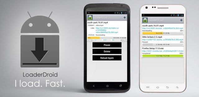 Loader Droid Pro download manager v0.9.1.3 APK