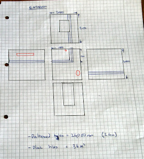 Designs for the tiling in the bathroom