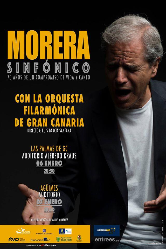 Morera Sinfónico con la Orquesta Filarmónica de Gran Canaria